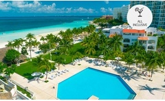 Cancún: desde $930.420 por 2, 3, 4, 5, 7 o 10 noches para dos all inclusive en Beachscape Kin Ha Villas & Suites - Groupon