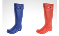 Botas para lluvia altas wellington bottplie en color a elección - Groupon
