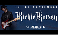 Entrada general para Richie Kotzen el 15/11 en Club Chocolate - Groupon