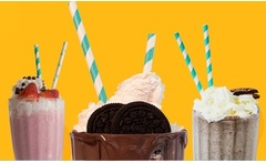 Desde $4.590 por 2 cafés en carta abierta + 2 brownies o 2 choc shakes o chocolate frappé + churros twin en Cacao Much - Groupon