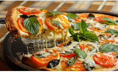 Delivery o take away de pizza - Groupon