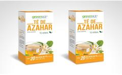 2 o 4 cajas de té herbal de azahar marca greenside - Groupon
