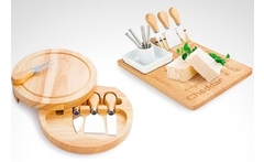 Set de tabla para quesos a elección - Groupon