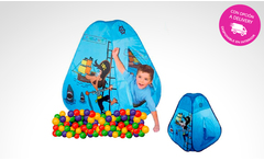 Carpa piratas con pelotas - Groupon