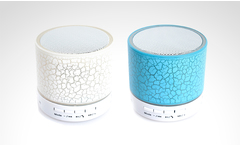 Parlante bluetooth mini speaker led en color a elección - Groupon