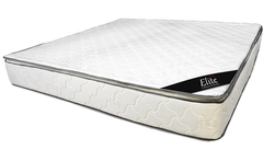 Colchon de 160x190 elite de resortes con pillow top suavidad (queen) - Avenida