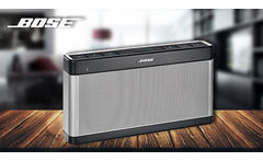 Parlante Bose® Soundlink III BT bluetooth para Android y iPhone - Cuponica