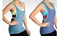 Polera con peto para mujer body and soul made by brooks - Groupon
