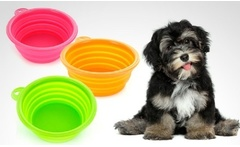 Pack de 2 platos plegables Dog Bowl portables en color a elección. Incluye despacho - Groupon