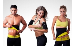 Set de cinturilla lisa y brazos reductores sauna shapers - Groupon
