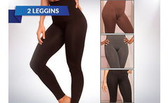 2 Leggins Slim and Tone para Mujer - Cuponatic
