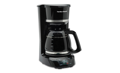 Hamilton beach cafetera programable 43874-mx - Groupon