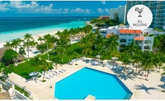 Cancún: desde $12483 por 5, 7 o 10 noches para dos + All Inclusive en Beachscape Kin Ha Villas & Suites - Groupon