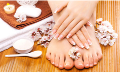 Spa de manos y pies con opción a esmaltado hasta 53% off - Groupon