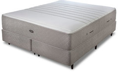 Juego de colchon y sommier de 180x200 sealy con resortes premium collection greyland king - Avenida