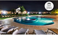 Salto: desde $2299 por 2, 3 o 4 noches para dos + pileta termal + late check out en Los Naranjos Resort Spa Termal - Groupon