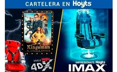 Cine hoyts: entrada imax® o 4dx + pop corn + bebida hasta 31% off - Groupon