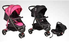Coche travel system modelo RS-13661 de Bebeglo en color a elección. Incluye despacho - Groupon