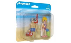 Playmobil Duo Pack - Pareja En La Playa - 9449 - Linio