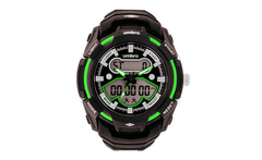 Reloj digital umbro color negro verde modelo umb-58-5 - Groupon
