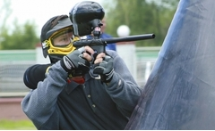 Hasta 70% off en hora de paintball para 10 personas - Groupon