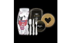 Kit Kit My Lovely Kitchen 3 piezas + Cubiertos Leme blanco - Tramontina