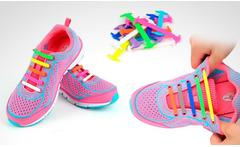 1 o 2 packs de agujetas shoelazys unisex en color a elegir - Groupon