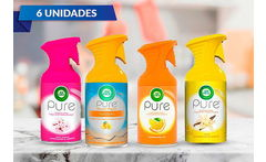 Pack de 6 Airwick Pure Aerosol - Cuponatic