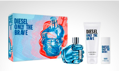 Estuche diesel only the brave de 75 ml edt + gel de ducha - Groupon