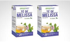 2 o 4 cajas de té herbal de melissa marca greenside - Groupon