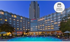 Santiago: desde $1999 por 1 o 2 noches para dos + welcome drink en Sheraton Santiago Hotel And Convention Center - Groupon