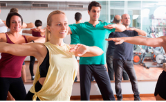 8 o 16 clases de zumba, yoga, stretching o running team - Groupon