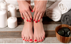 Manicure + spa de manos + pedicure + spa de pies - Groupon