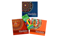 Pack de 3 libros Mandalas Culturales Coloreables - Groupon