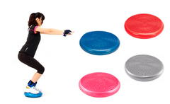 Mini disco de equilibrio para pilates/yoga inestable con inflador - Groupon