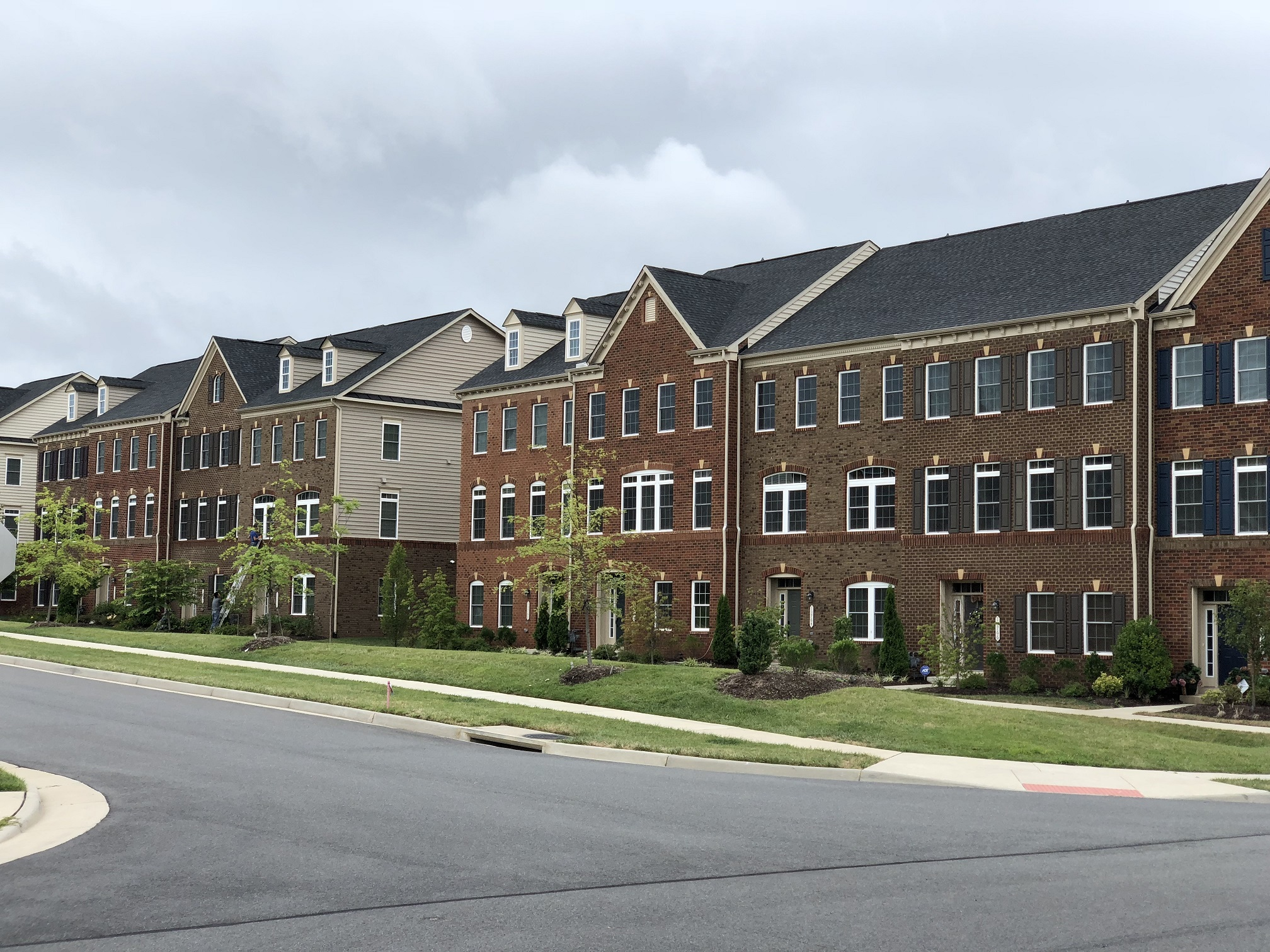 Townhouses at Wentworth Green in Gainesville, VA