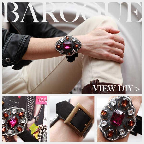 Las pulseras barrocas se caracterizan por su exceso en detalles