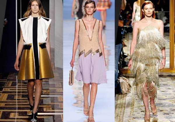 La moda metálica en las pasarelas