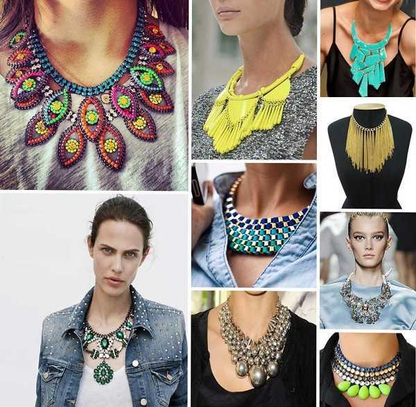 Tienes cientos de estilos para escoger entre los maxi collares