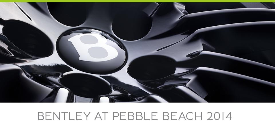 Bentley Pebble Beach 2014