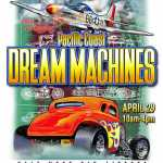 Pacific Coast Dream Machines Show, The Coolest Show on Earth 2018