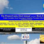 """32nd ANNUAL THANKSGIVING """"not just"""" ROCK RECORD & CD SHOW 2018 2022"""