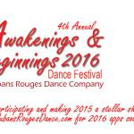 Awakenings & Beginnings Dance Festival 2020