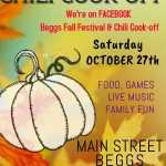 Beggs Fall Festival & Chili Cook-Off 2018