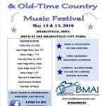 BMAI Bluegrass and Old Time Country Camping Weekend 2021
