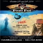 Boynton Beach Haunted Pirate Fest and Mermaid Splash 2016