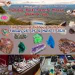 Clarkdale Rocks Gem & Mineral Show - February 28th, 29th and March 1st, 2020 2020