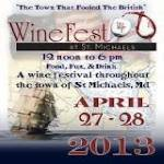 Cruise to the St. Michaels Wine Festival 2018