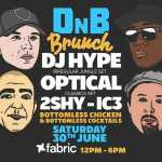 DnB Brunch at Fabric w/ DJ Hype, Optical, 2Shy and IC3 2018