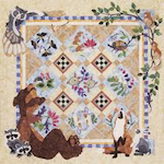 Fabric of the Forest Quilt Show 2018